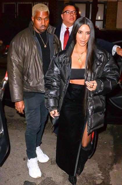 Todos los detalles del íntimo festejo de San Valentin de Kim Kardashian y Kanye West (Foto + Video)