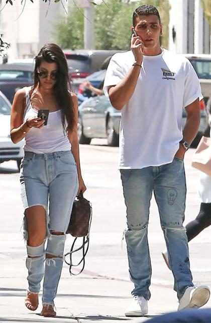 Kourtney Kardashian está saindo com Younes Bendjima e irritando Scott Disick