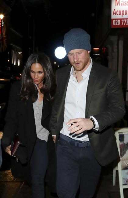 Así es como el Príncipe Harry y Meghan Markle mantienen su romance en privado