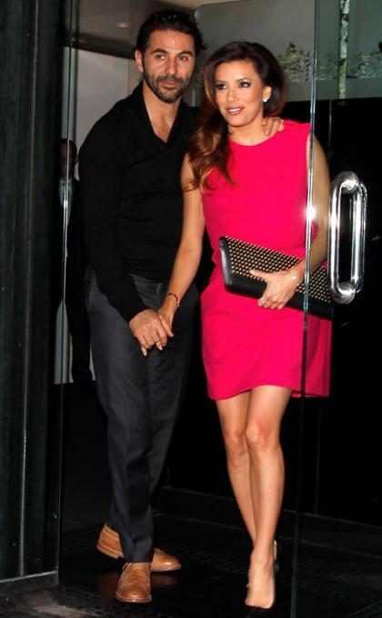 OMG! ¿Eva Longoria y Pepe Bastón ya son esposos?
