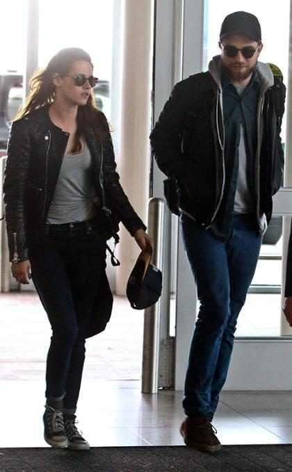 Robert Pattinson e Kristen Stewart passam dias juntos em hotel