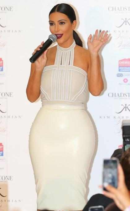 Kim Kardashian teria mandado fazer escultura de seu bumbum para Kanye