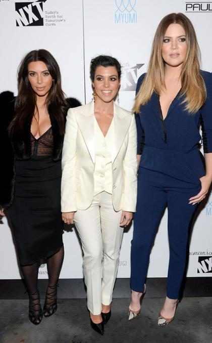 A evolução fashion das Kardashians