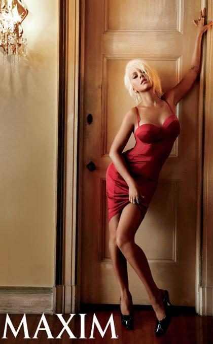 Christina Aguilera, Rihanna y Shakira se ganaron un puesto en las más hot de Maxim (+ Fotos)