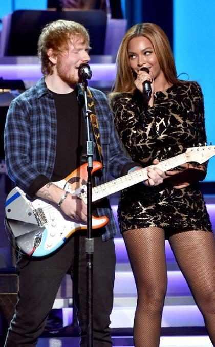 Ed Sheeran revela que quer colaborar com Beyoncé em música