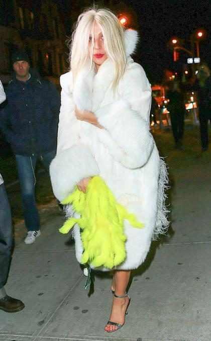 Lady Gaga e seus looks mais bizarros