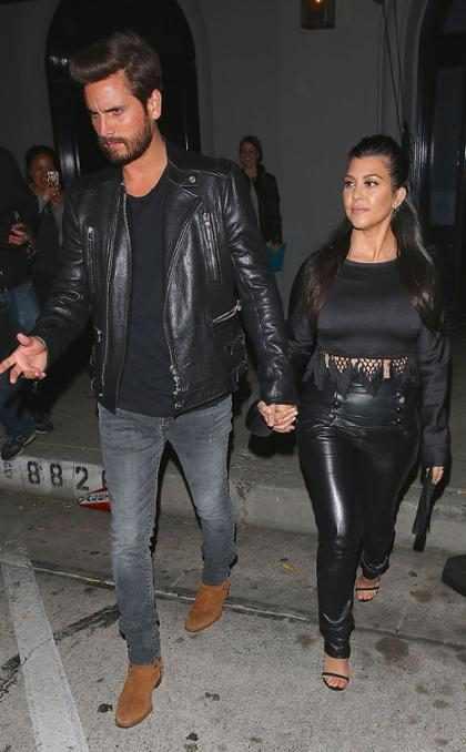 Kourtney Kardashian e Scott Disick estão juntos novamente