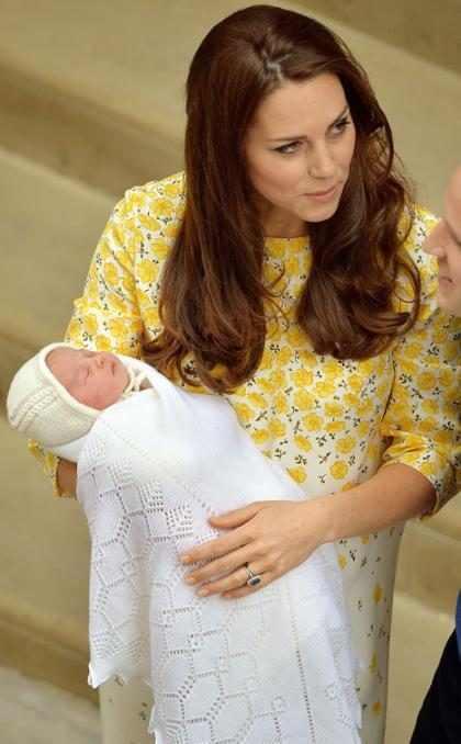 Charlotte Elizabeth Diana é o nome da filha de Kate Middleton e príncipe William