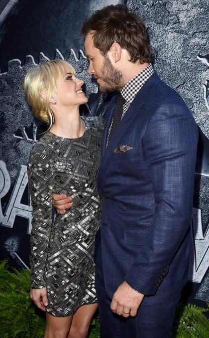 Chris Pratt participó en el libro de Anna Faris antes de anunciar su divorcio