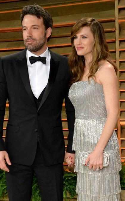 Ben Affleck y Jennifer Garner fueron captados en un muy tenso momento tras el anuncio de su divorcio ¡Míralos! (+ Foto)