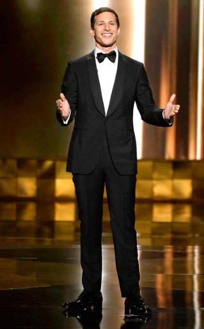 Las mejores bromas de Andy Samberg durante los Emmy Awards (+ Gifs)
