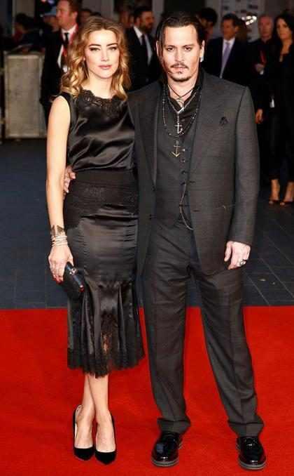 OMG! ¿Hay problemas en el hogar de Amber Heard y Johnny Depp?