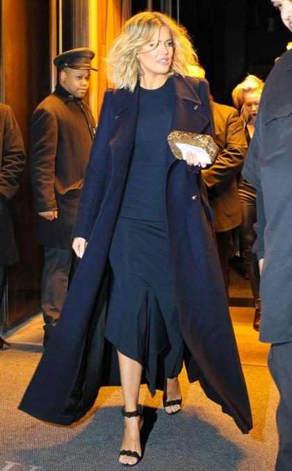 OMG! Khloé Kardashian lució radiante, impactante, sublime en su visita a Nueva York (+ Fotos)