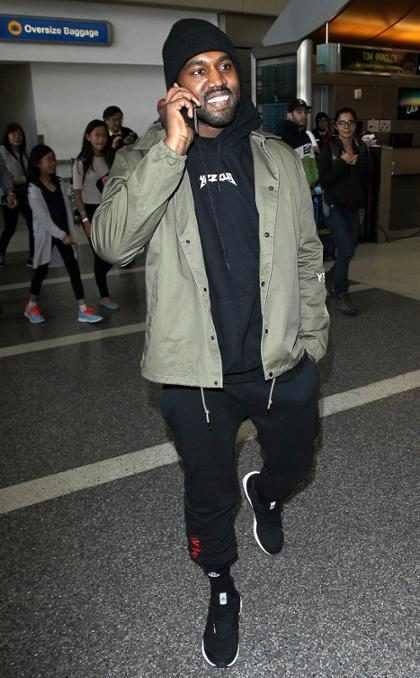 Mira el radical cambio de look que se hizo Kanye West tras abandonar el hospital (+ Foto)