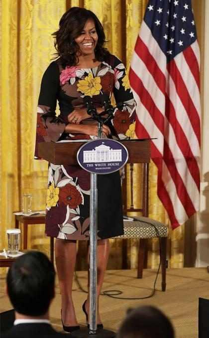 Y es así como Michelle Obama nos decepciona enormemente