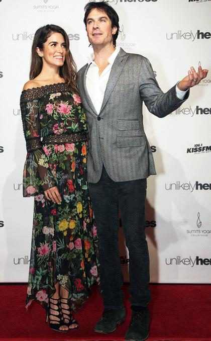 Ian Somerhalder recibe una lluvia de críticas y Nikki Redd sale en su defensa