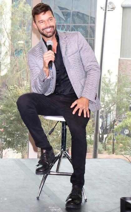 ¡Alerta de incomodidad! Ricky Martin reveló quién fue su primer crush masculino (+ Video)