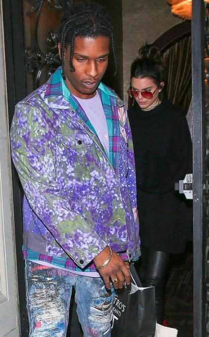Kendall Jenner, y A$AP Rocky capturados luego de una cita ¿Vuelve el romance o nunca se fue?