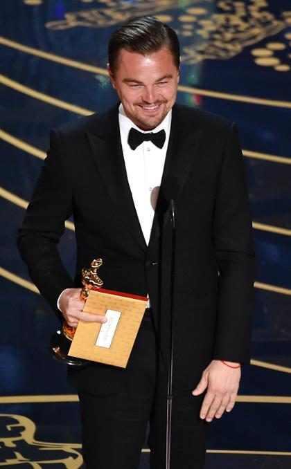 Esta fue sin duda la mejor reacción ante el triunfo de Leonardo DiCaprio ¿Ustedes cómo celebraron? (+ Video)