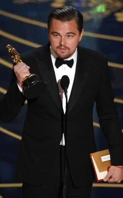 Leonardo DiCaprio diz como se sente ao conquistar sua primeira estatueta do Oscar
