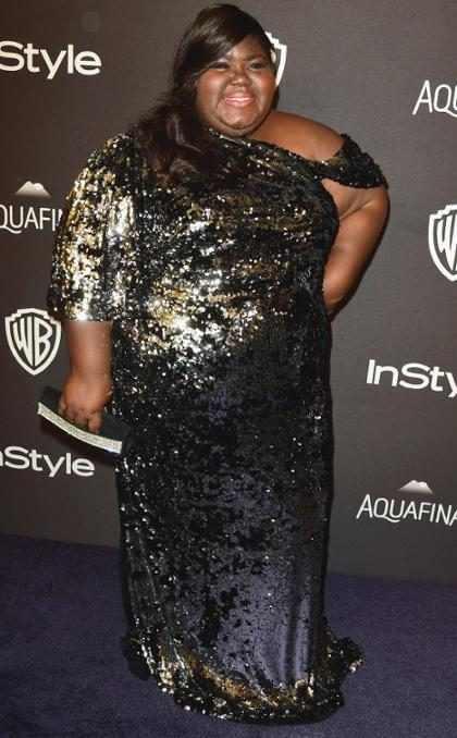 WOW! Precious, Gabourey Sidibe, mostró su nueva figura en ropa interior (+ Fotos)