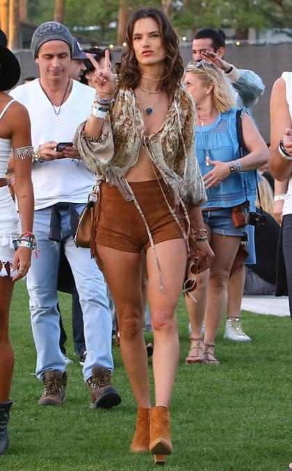 #ADNFashionista: La favorita de Coachella, Alessandra Ambrosio