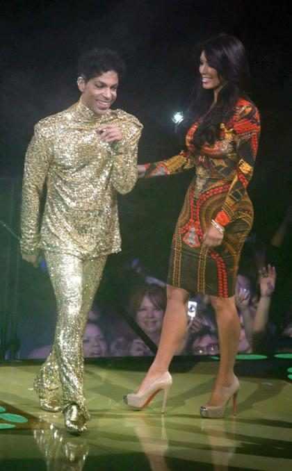 Una prueba más de que a Prince no le gustaba ninguna de las Kardashians (+ Video)
