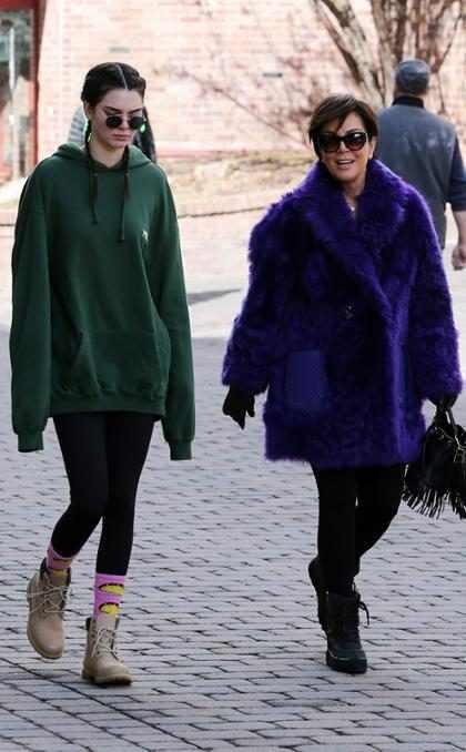 La crisis que tuvo Kendall Jenner y cómo su mamá la ayudó