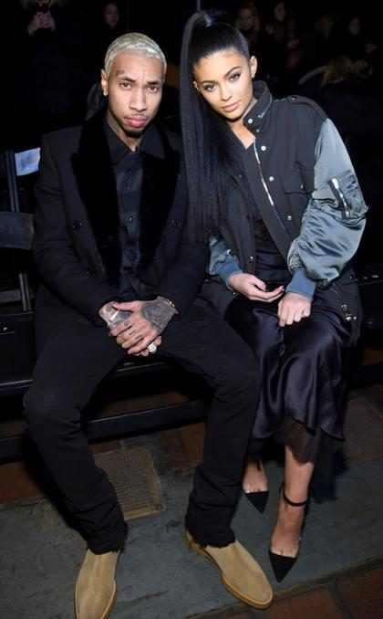 "Kylie Jenner trata de ""mantenerse fuerte"" después de separarse de Tyga"