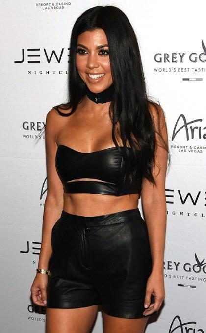 Kourtney Kardashian celebró el cumpleaños de Scott Disick de la manera más candente… (+ Foto)