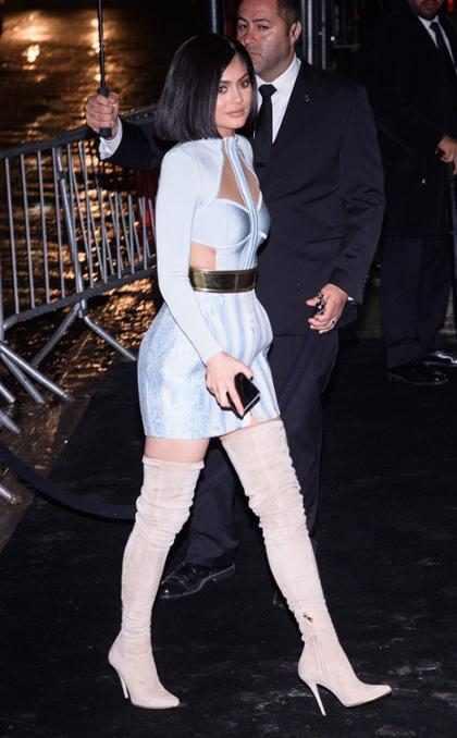 Todos los ojos sobre la ropa interior de Kylie Jenner (+ Fotos)