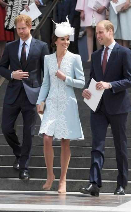 Família real britânica celebra aniversário da Rainha Elizabeth II