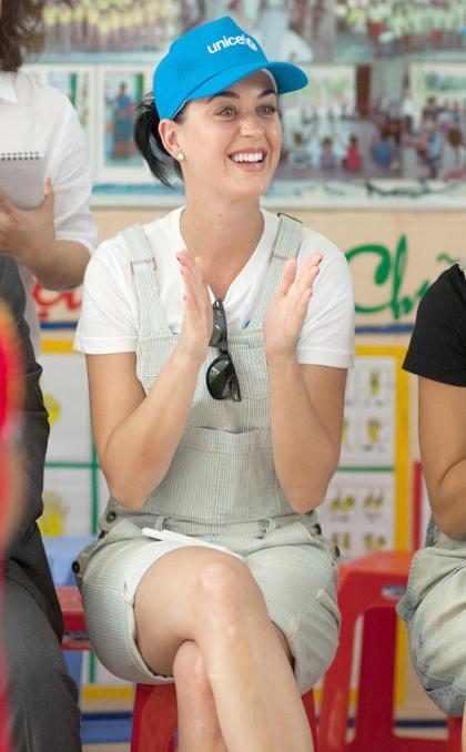 Katy Perry le envió un mensaje de apoyo al chico que creyó ser su novio durante seis años
