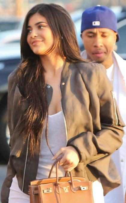 Tras su reconciliación Kylie Jenner y Tyga no se quieren separar ni un segundo (Foto + Video)