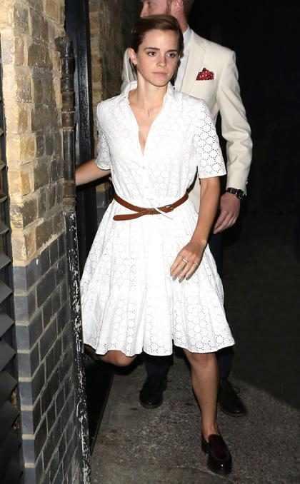 Por esto, el atacante de Gigi Hadid nunca se meterá con Emma Watson (+ Fotos)