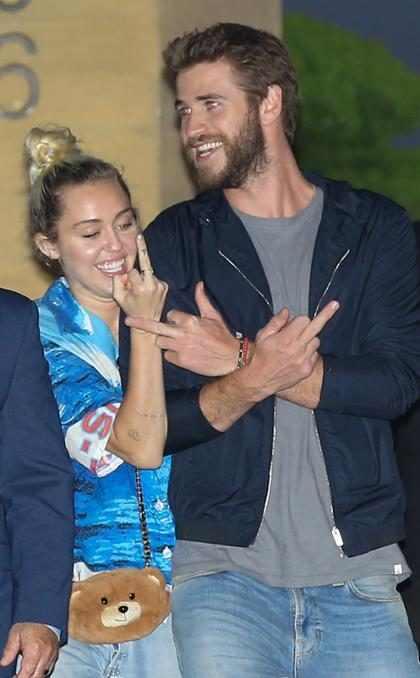 Así es como Liam Hemsworth le demuestra todo su amor a Miley Cyrus (+ Foto)
