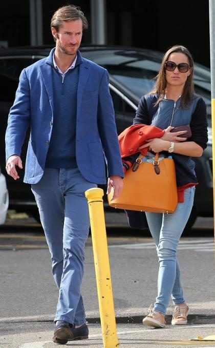 Pippa Middleton está noiva de James Matthews