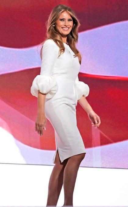 Luego de la polémica ¿qué diseñador vestirá a Melania Trump en la toma de posesión? (+ Fotos)