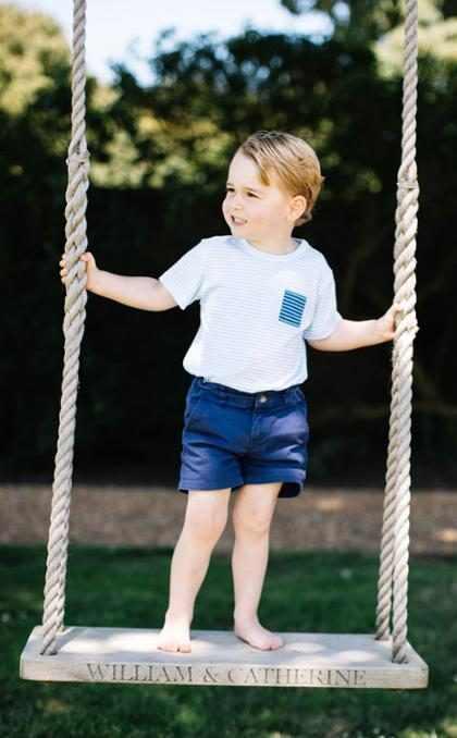 ¿Alguna vez te preguntaste por qué el Príncipe George siempre usa shorts? (+ Fotos)