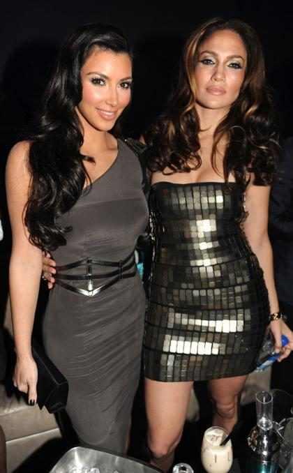 Mejores Amigas: Jennifer López celebró su cumpleaños junto a Kim Kardashian (+ Videos)