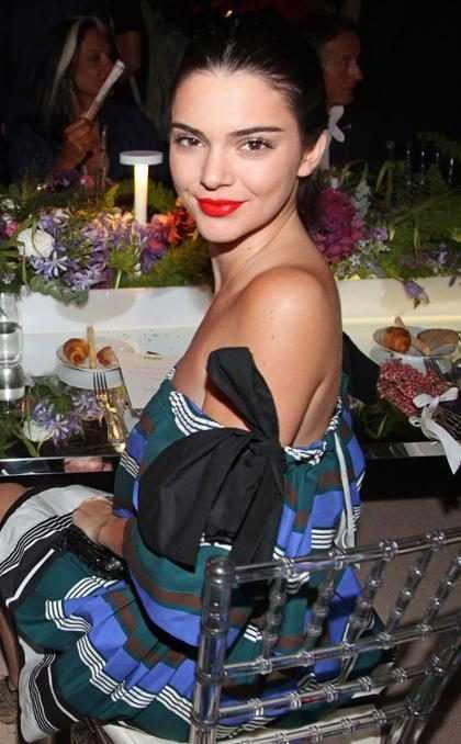 Kendall Jenner no tiene tiempo para el amor (Solamente para aventuras y ellos son sus compañeros)