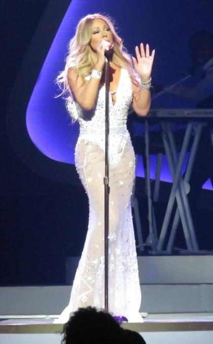 Un nuevo día en el show de Mariah Carey en Las Vegas