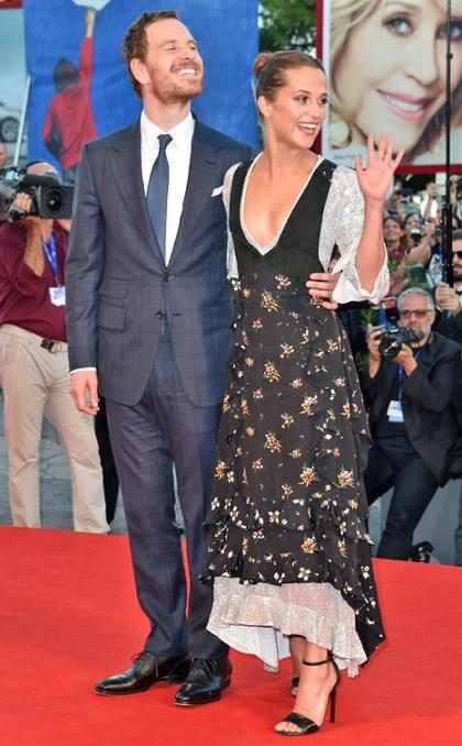 ¡Michael Fassbender y Alicia Vikander ya son marido y mujer!