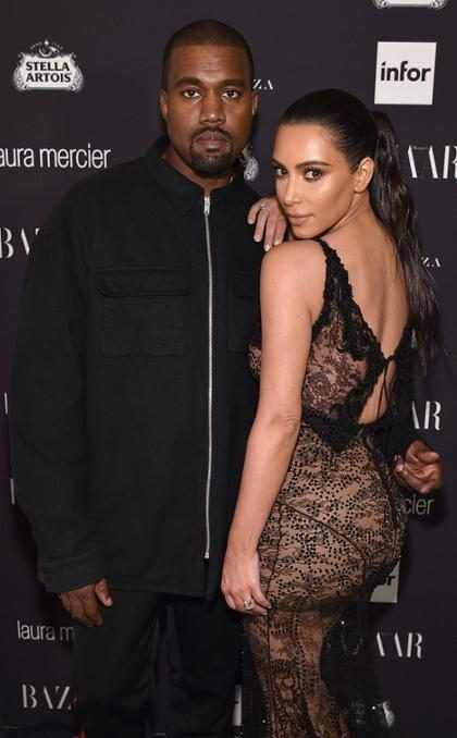 Kim Kardashian e Kanye West contratam barriga de aluguel para terem o terceiro filho