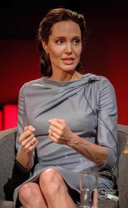 Angelina Jolie volvió al trabajo luego de su divorcio con Brad Pitt y esto es lo que hizo