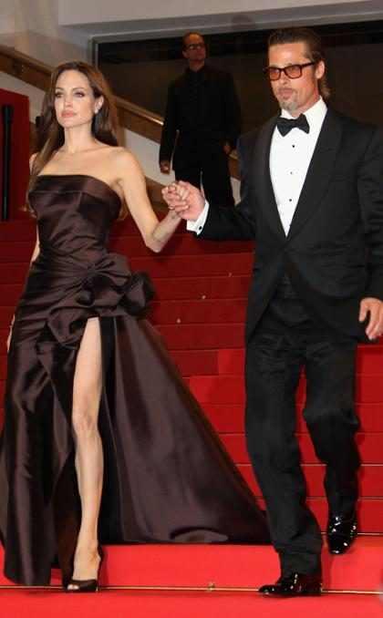 Salen a la luz pública los tatuajes que Angelina Jolie se hizo para salvar su matrimonio con Brad Pitt (+ Fotos)
