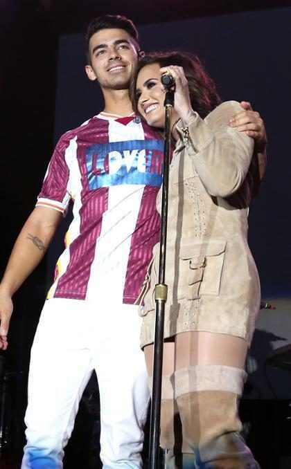 Demi Lovato tuvo la mejor reacción al compromiso de Joe Jonas y Sophie Turner ¡Mira!
