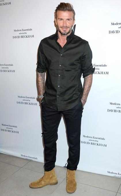 David Beckham luce completamente irreconocible en este adelanto de <em>King Arthur</em> y tienes que verlo