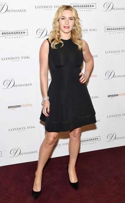 Kate Winslet afirma que sofria bullying na escola