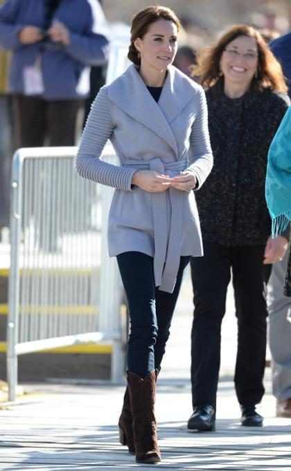 Kate Middleton sigue derrochando glamour en su visita a Canadá